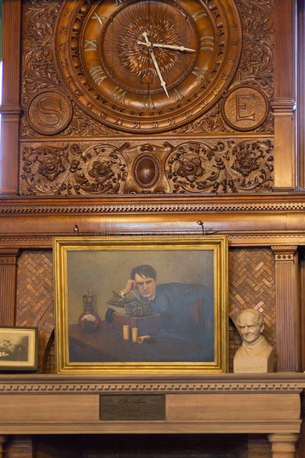 Парк Томас Эдисон национальный исторический сохраняет лабораторию Томас Эдисон стоковые изображения rf