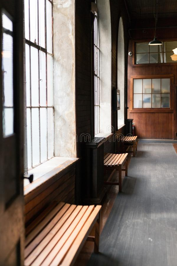 Парк Томас Эдисон национальный исторический сохраняет лабораторию Томас Эдисон стоковое изображение