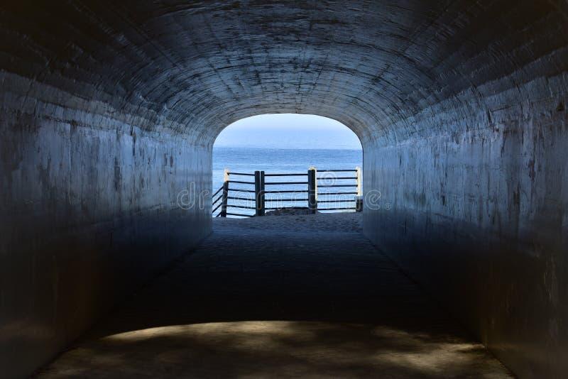 Парк тоннеля Lake Michigan в Голландии стоковая фотография