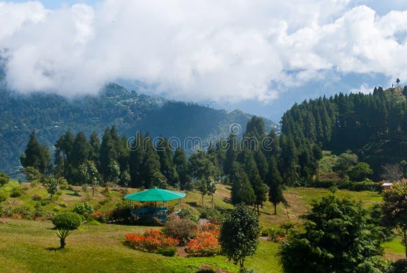 Парк туристов холма Deolo стоковая фотография
