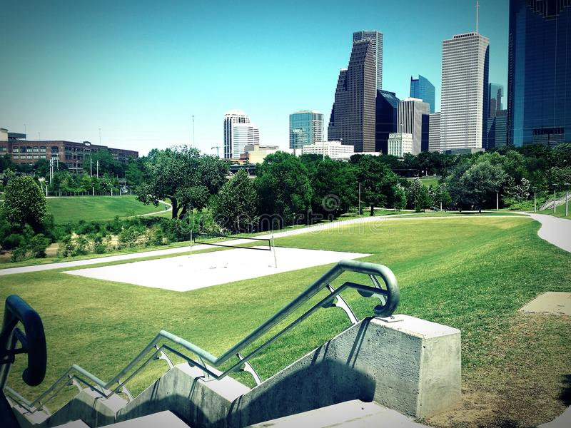 Парк Хьюстона стоковые изображения
