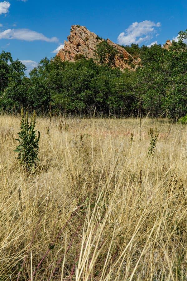 Парк штата Денвер Колорадо Roxborough стоковые фотографии rf