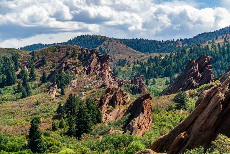 Парк штата Денвер Колорадо Roxborough стоковая фотография rf
