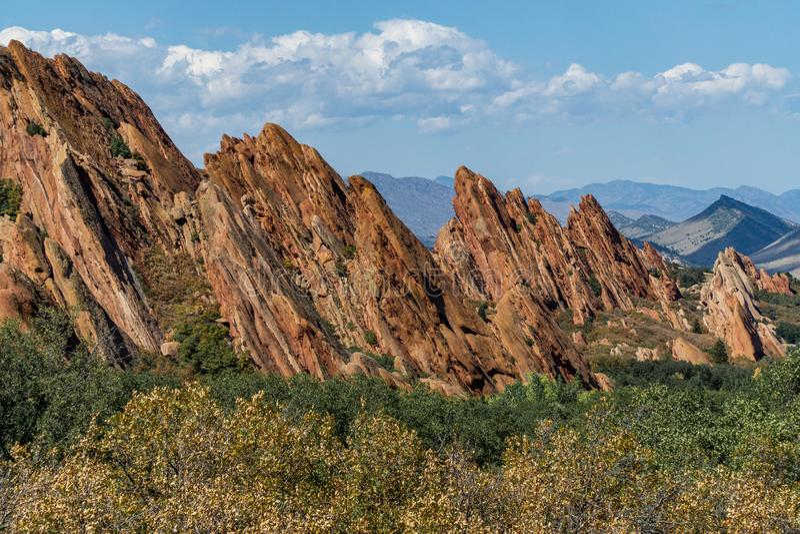 Парк штата Денвер Колорадо Roxborough стоковое изображение
