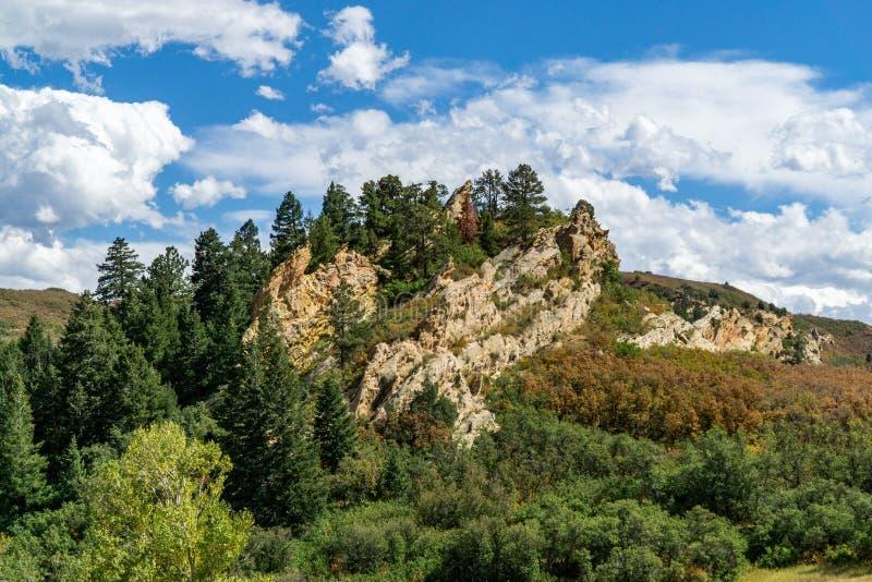 Парк штата Денвер Колорадо Roxborough стоковые фото