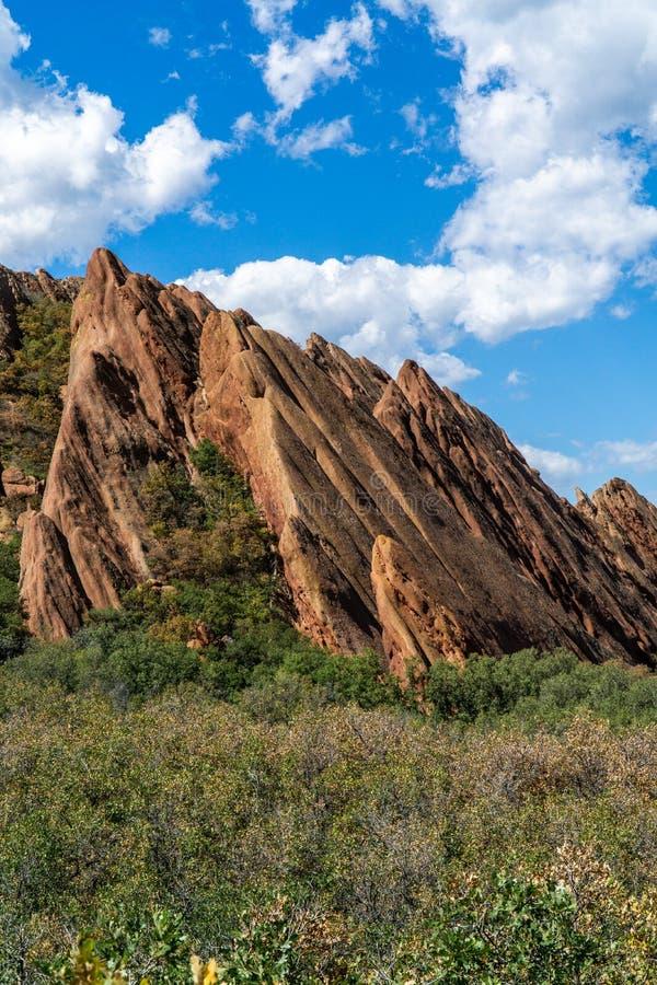 Парк штата Денвер Колорадо Roxborough стоковые изображения