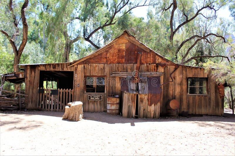 Парк штата дендропарка Boyce Томпсона, главный начальник, Аризона Соединенные Штаты стоковые фотографии rf