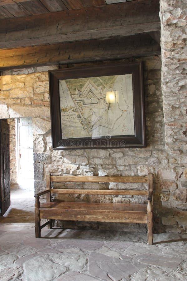 Парк штата Ниагары форта стоковые фотографии rf