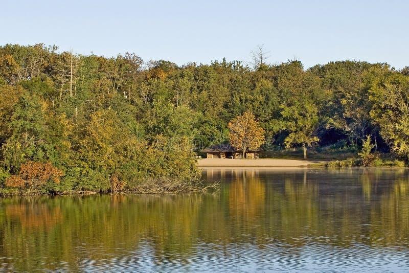 Парк штата озера сосенк стоковые изображения rf