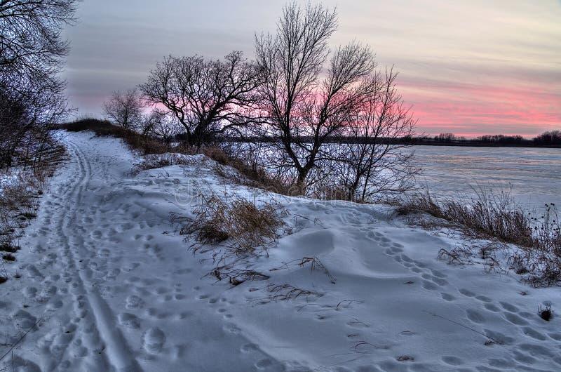 Парк штата озер Oakwood в положении Южной Дакоты около Brookings стоковые изображения