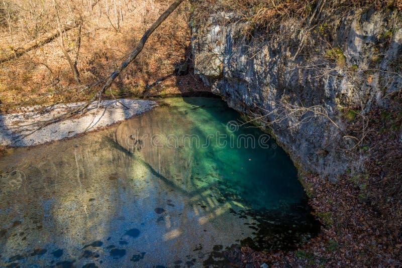 Парк штата Ha Ha Tonka стоковое изображение
