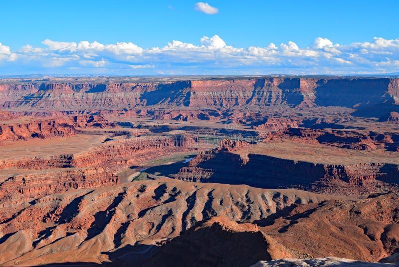 Парк штата Moab пункта мертвой лошади Юта стоковое изображение