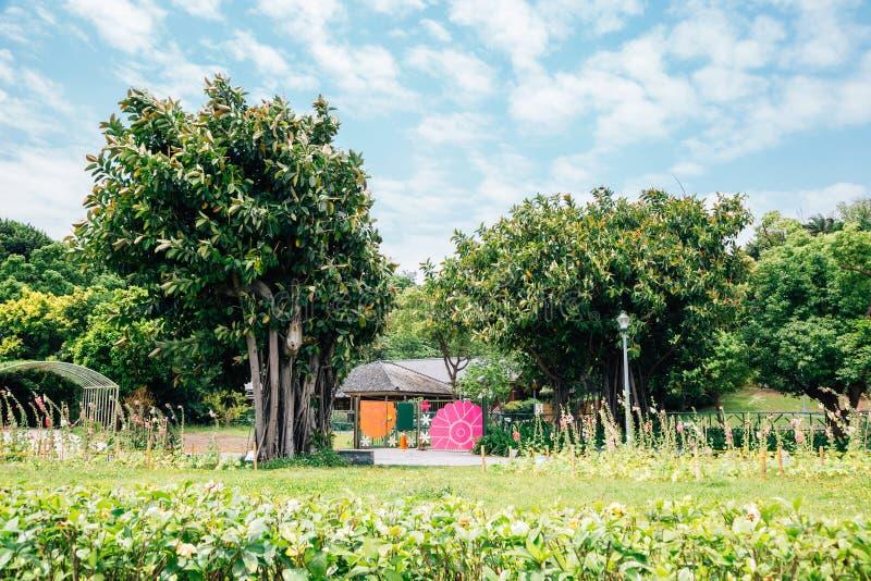 Парк экспо Тайбэя в Тайване стоковая фотография