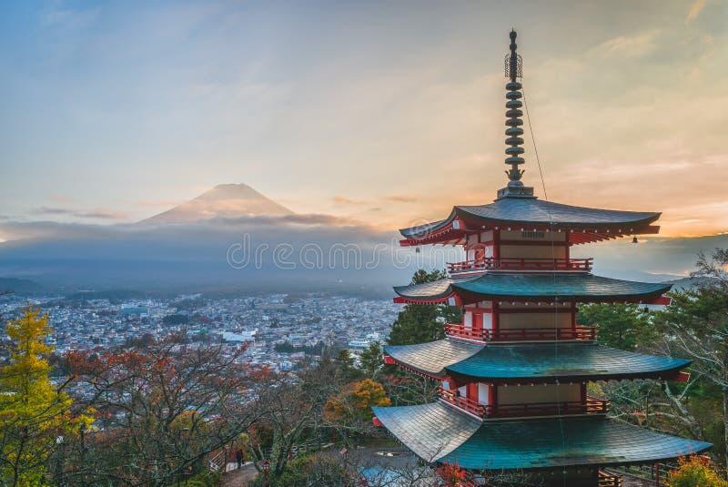 Парк Arakurayama Sengen горы Arakura, Япония стоковые фотографии rf