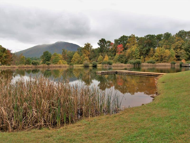 Парк Ashe County в Jefferson, Северной Каролине стоковое фото rf
