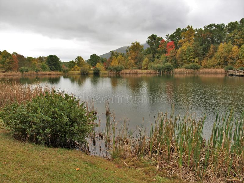 Парк Ashe County стоковое изображение rf