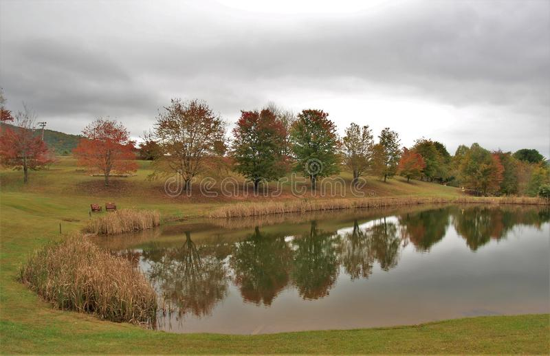 Парк Ashe County стоковые фото