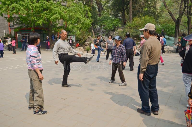 Парк Beihai в Пекине стоковые фото