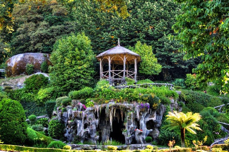 Парк Bom Иисуса делает святилище Monte стоковая фотография