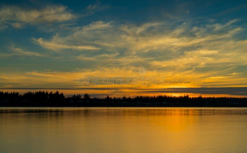 Парк Burfoot, Олимпия Вашингтон, США стоковое изображение rf