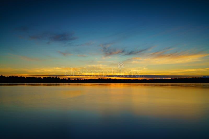 Парк Burfoot, Олимпия Вашингтон, США стоковое фото