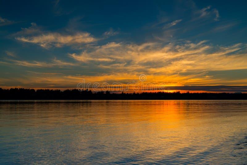 Парк Burfoot, Олимпия Вашингтон, США стоковое изображение