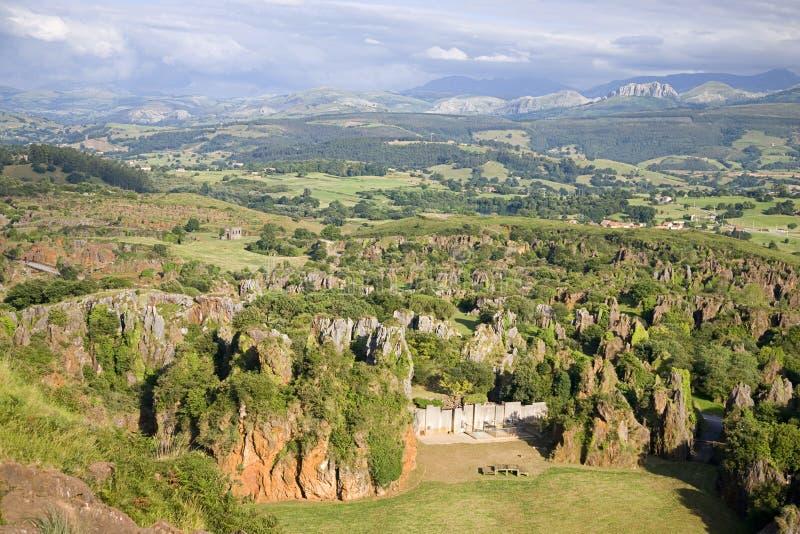 Парк Cabarceno стоковое фото