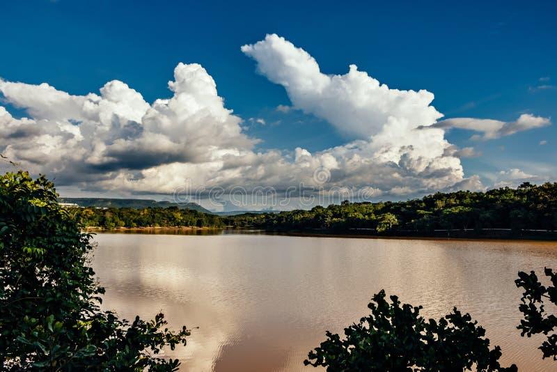 Парк Cesamar в Palmas, государстве Tocantins, Бразилии стоковое изображение