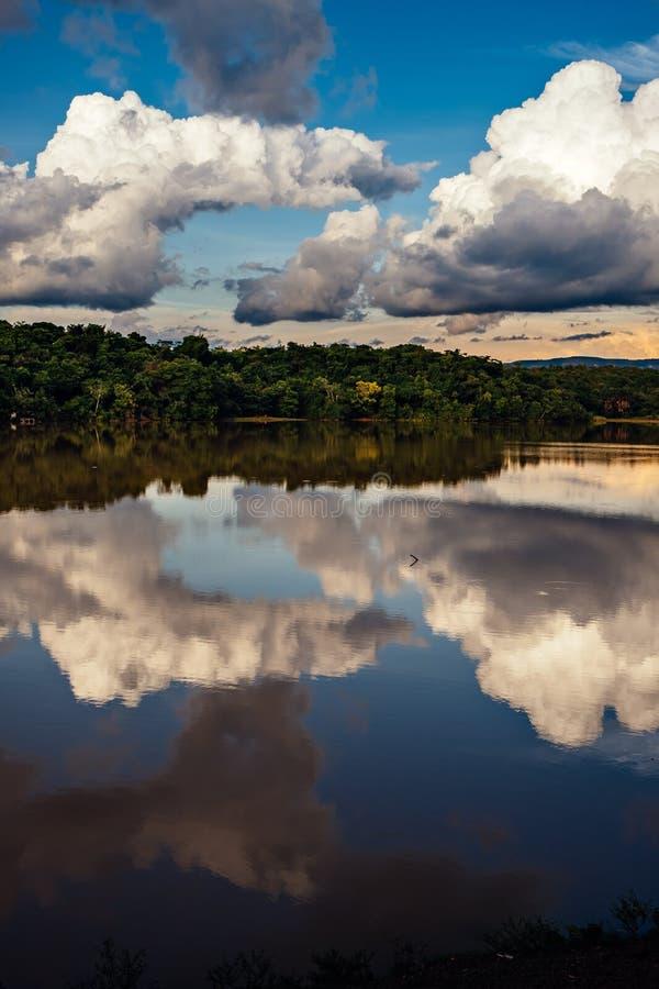 Парк Cesamar в Palmas, государстве Tocantins, Бразилии стоковое фото rf