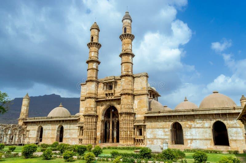 Парк Champaner-pavagath археологический стоковое изображение rf