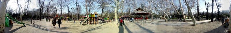 Парк Cismigiu 360 градусов панорамы стоковое изображение