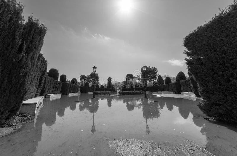 Парк Ciutadella в Барселоне стоковые фото
