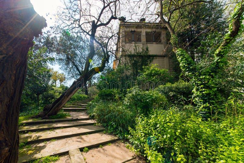 Парк Ciutadella в Барселоне стоковые изображения