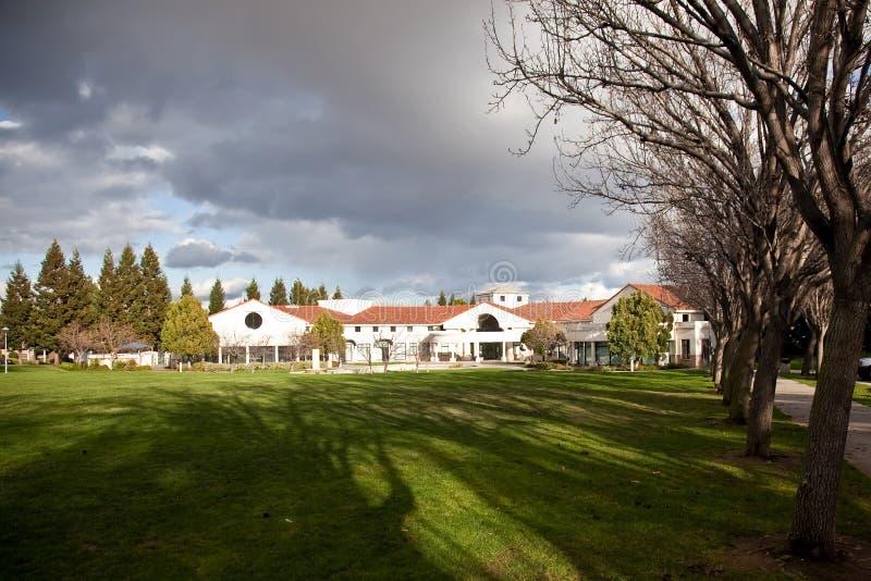 парк cupertino мемориальный стоковое изображение rf