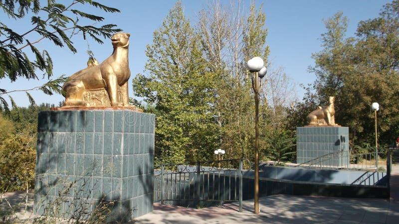 Парк Dendro, Shymkent, Казахстан стоковая фотография rf