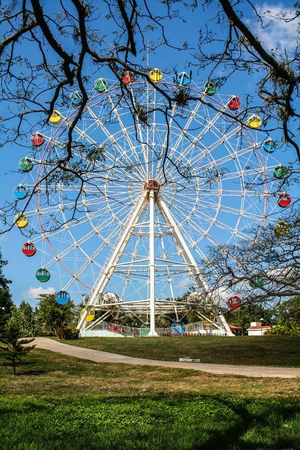 Парк Diverciones, звезда стоковые изображения