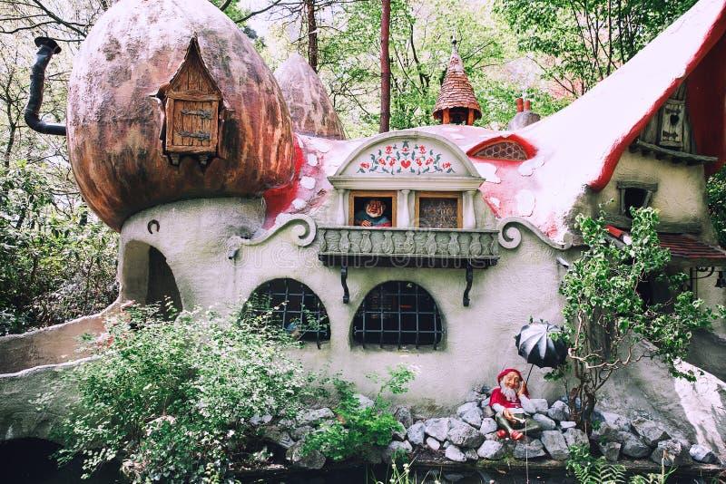 Парк Efteling фантазии тематический в Нидерландах стоковые фотографии rf