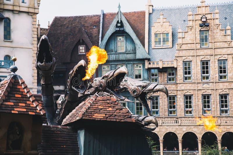 Парк Efteling фантазии тематический в Нидерландах стоковая фотография rf