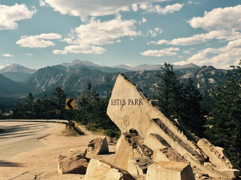 Парк Estes стоковая фотография