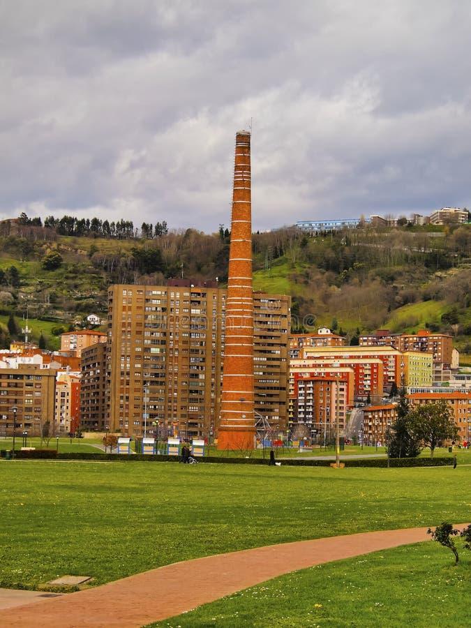 Парк Etxebarria в Бильбао стоковая фотография rf