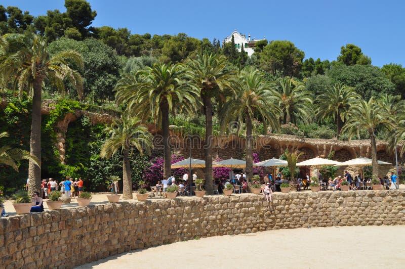 Парк Güell стоковые изображения