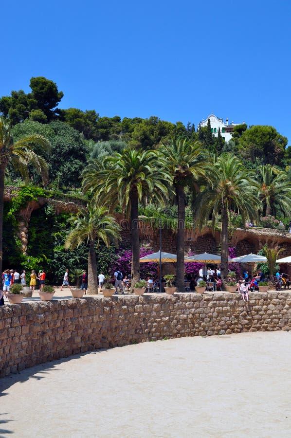 Парк Güell стоковое изображение rf