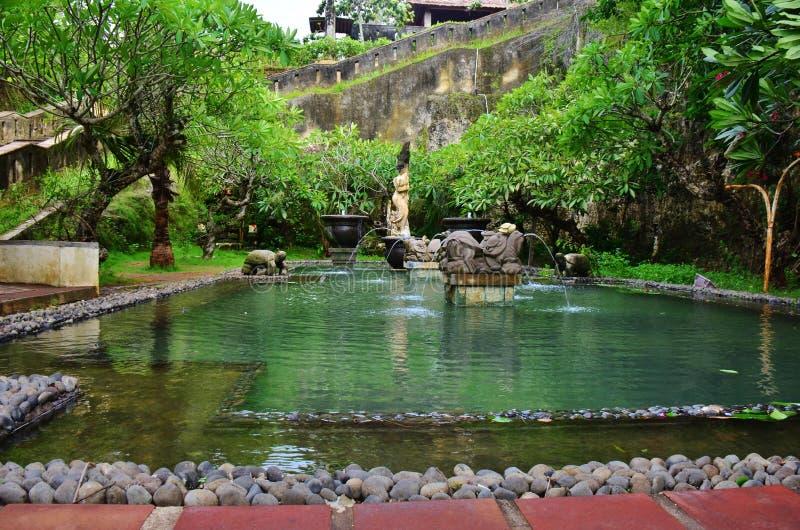 Парк Garuda Wisnu Kencana культурный, Бали Индонезия стоковая фотография