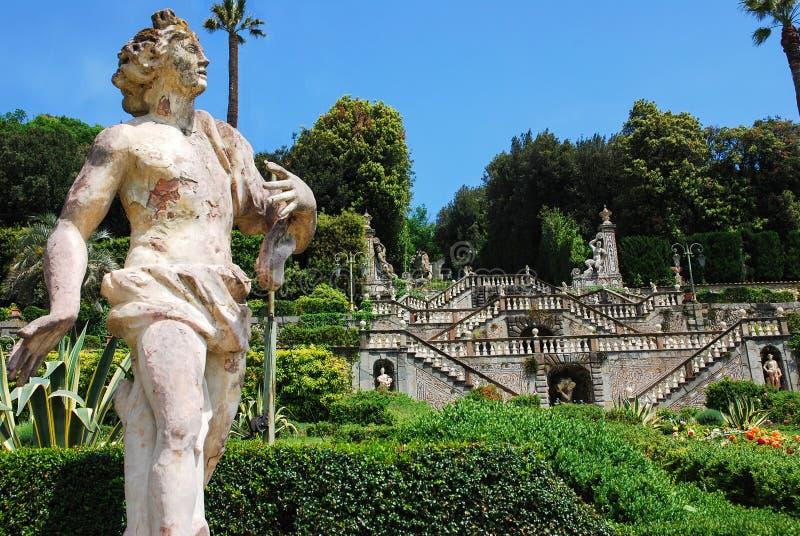 Парк Garzoni, Collodi, Италия стоковые изображения rf