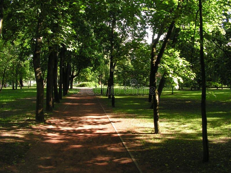 Парк Gorky сентенции Минска Беларуси стоковые изображения rf