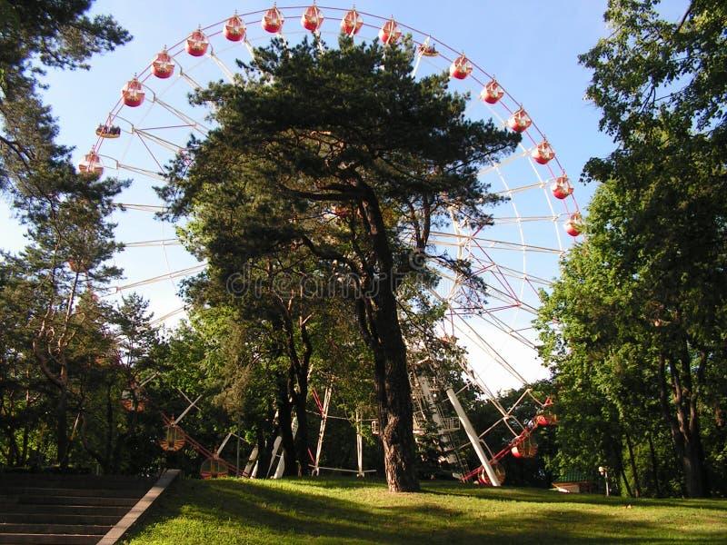 Парк Gorky сентенции Минска Беларуси стоковое изображение