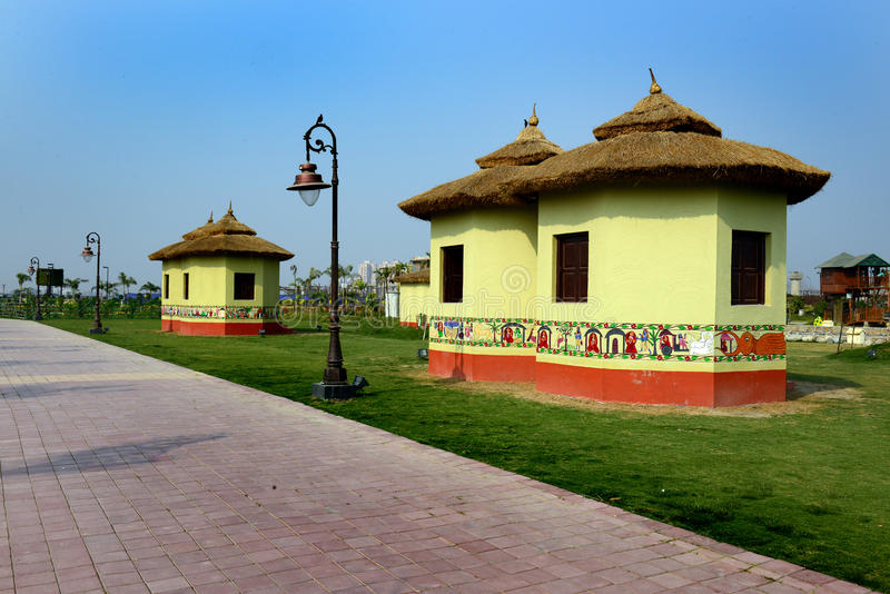 Парк Kolkata Eco стоковое фото