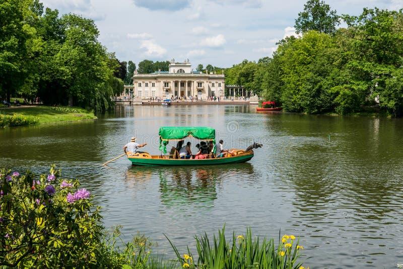 Парк Lazienki, Варшава, Польша стоковые изображения rf