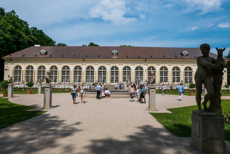 Парк Lazienki, Варшава, Польша стоковая фотография