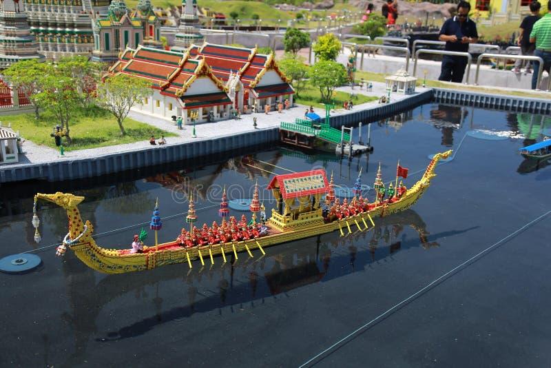 Парк Legoland стоковые фотографии rf